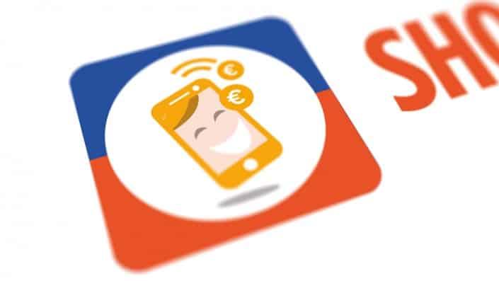 logo ontwerp voor shop en spaar
