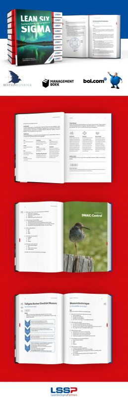 boek ontwerp vormgeving en opmaak lean six sigma partners