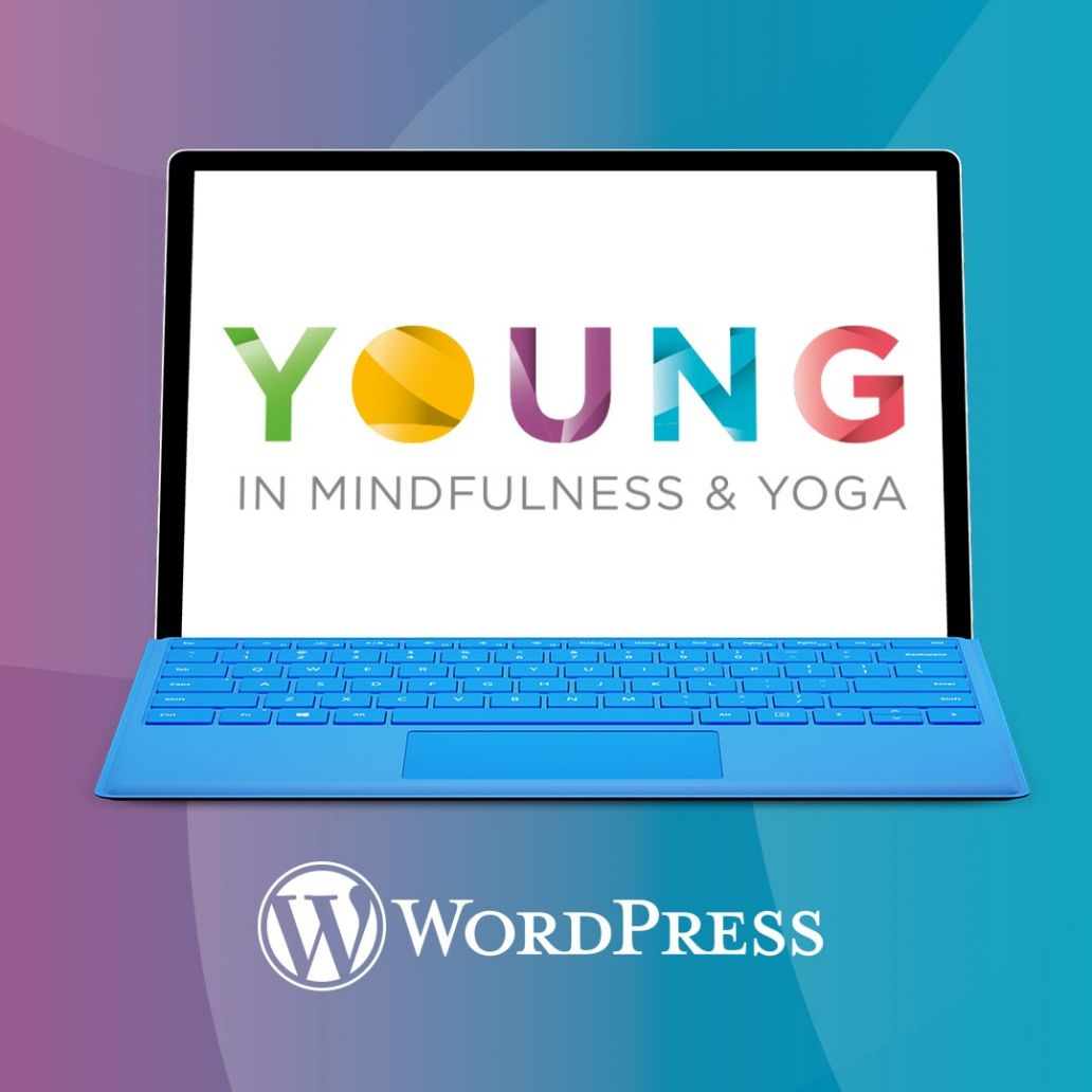 Logo ontwerp en wordpress website young mindfulness en yoga