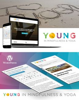 Logo ontwerp en WordPress website Young mindfulness en yoga