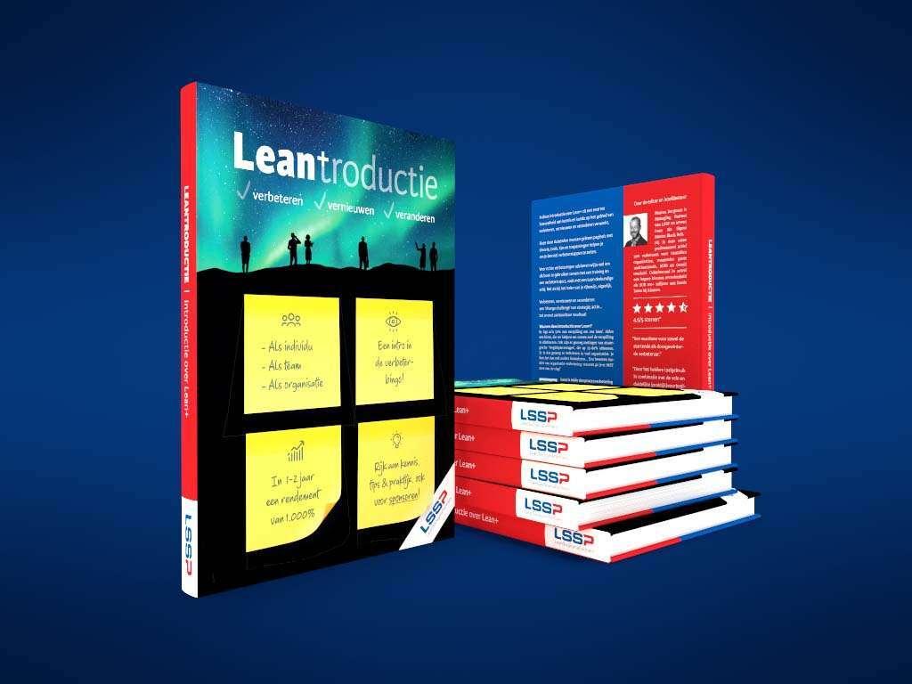 Boek laten maken zoals dit boek ontwerp van Lean Six Sigma Partners door Aadwork uit BINK36 in Den Haag