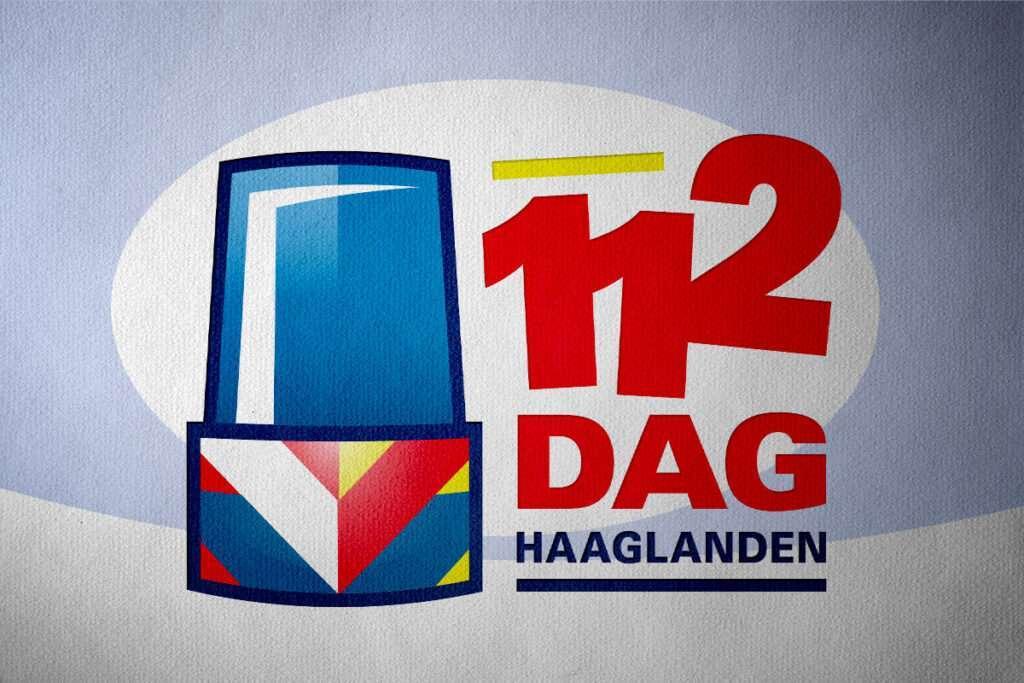Logo ontwerp voor 112 Dag Haaglanden door Aadwork uit BINK36 Den Haag