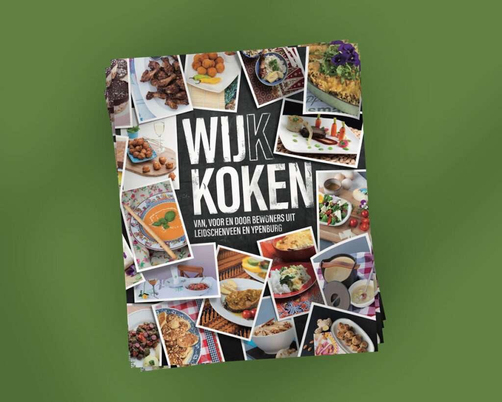 stapel magazine ontwerp WijkKoken voor Bibliotheek Den Haag door Aadwork uit BINK36 Den Haag